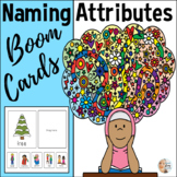 Boom Cards™ in Speech Therapy for Naming Attributes