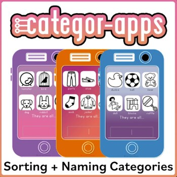 Naming Categories with Categor-Apps! Includes sub-categories