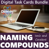 Naming Compounds Virtual Task Cards Bundle (Distance Learning)