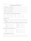 Naming Compounds Notes Set