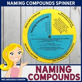 Naming Compounds Spinner - A Fun Chemical Nomenclature Review!