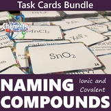 Naming Compounds Task Card BUNDLE (Ionic and Covalent)