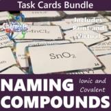 Naming Compounds Task Card Print and Virtual Bundle