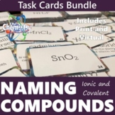 Naming Compounds Task Card Print and Digital Bundle