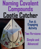 Naming Covalent Compounds Activity