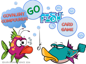 Naming Covalent Compounds GO FISH Card Game