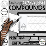 Naming Covalent Compounds Tarsia Puzzle in Print and Digital   Distance Learning