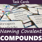 Naming Covalent Compounds Task Card Activity