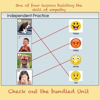 Kinder Empathy Lesson 1 - Name Feelings