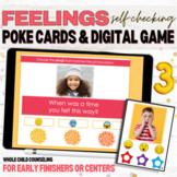 Naming Feelings Print and Digital Interactive Social Skills Game