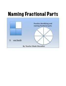 Naming Fractional Parts