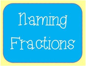Naming Fractions Bundle