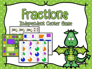 Fractions Independent Center Game