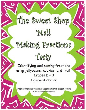 Naming Fractions at the Sweet Shop Mall
