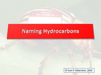 naming hydrocarbons teaching resources teachers pay teachers