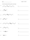Naming Hydrocarbons (alkenes and alkynes)