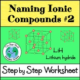Naming Ionic Compounds 2