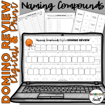 Naming Ionic, Covalent, and Acids Compounds Domino Review