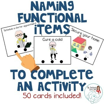 Naming Items Needed for an Activity