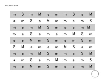 Naming Letter Fluency Practice Pages (HM Journeys sequence K)