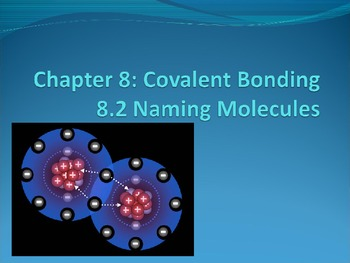 Naming Molecules