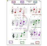 Naming Musical Notes