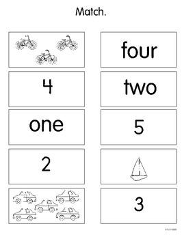 Naming Numbers (CCSS K.CC.B.4a)