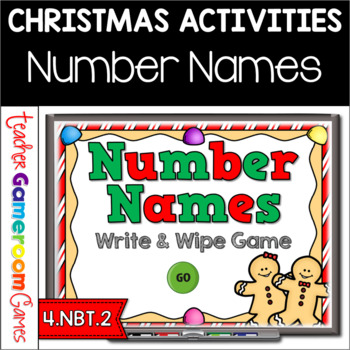 Naming Numbers Place Value Powerpoint Game