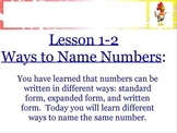 Naming Numbers as Thousands and Hundreds Promethean ActivBoard Lesson