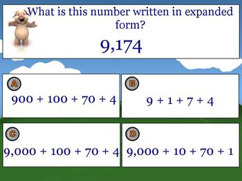 Naming Numbers in Standard, Expanded, and Written Form Animated PowerPoint