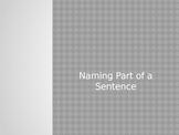 Naming Part