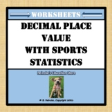 Naming Place Values with Sports Statistics