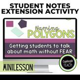 Naming Polygons: Think, Chat, Write Power Point Presentati