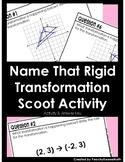 Naming Rigid Transformations Activity/Task Cards