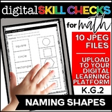 Naming Shapes | Distance Learning K.G.2