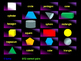 Naming Shapes Interactive Matching Pairs Pictures Game