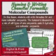 Naming & Writing Chemical Formulas: Molecular Compounds