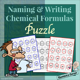 Naming & Writing Chemical Formulas: Puzzle