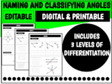 Naming and Classifying Angles   Distance Learning