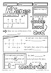 Naming Drawing Alkenes Doodle Review Middle High School Chemistry