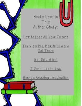 Nancy Carlson Author Study