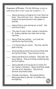Nancy Clancy BUNDLE (Jane O'Connor) 3 Novel Studies : Books #1-3  (99 pages)