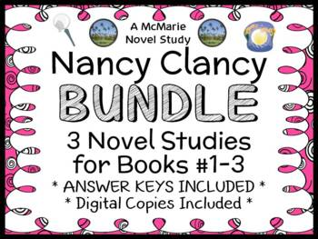 Nancy Clancy BUNDLE (Jane O'Connor) 3 Novel Studies : Book