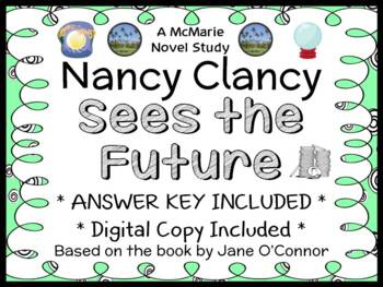 Nancy Clancy Sees the Future (Jane O'Connor) Novel Study / Comprehension (32pgs)
