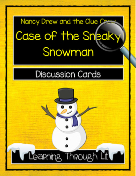 Nancy Drew - Case of the Sneaky Snowman - Discussion Cards