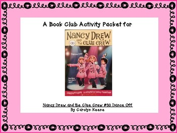 Nancy Drew Dance Off Book Club Activity Pack