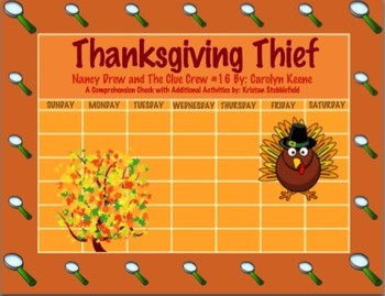 Nancy Drew and The Clue Crew - Thanksgiving Thief