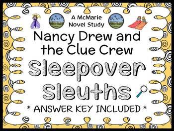 Nancy Drew and the Clue Crew: Sleepover Sleuths (Carolyn Keene) Novel Study