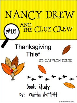Nancy Drew and the Clue Crew Thanksgiving Thief Book Study