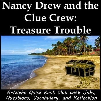 Nancy Drew and the Clue Crew Treasure Trouble - Book Club